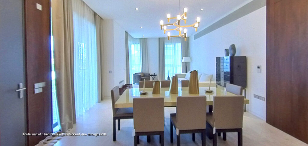 3 Orchard By-The-Park showflat of 3 Bedrooms on actual unit
