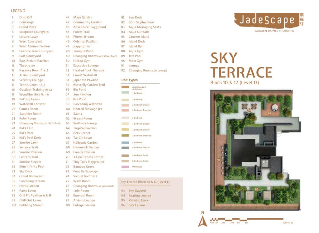 Facilities at Sky Terrace