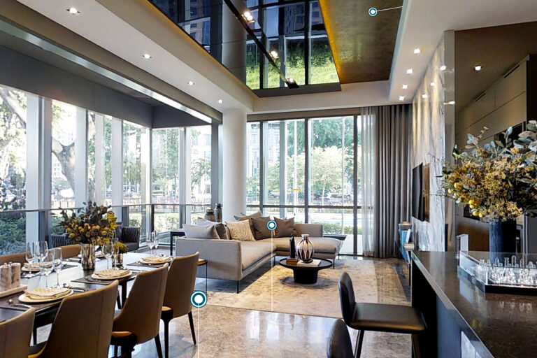 Riviere 4 bedrooms Showflat with high ceiling