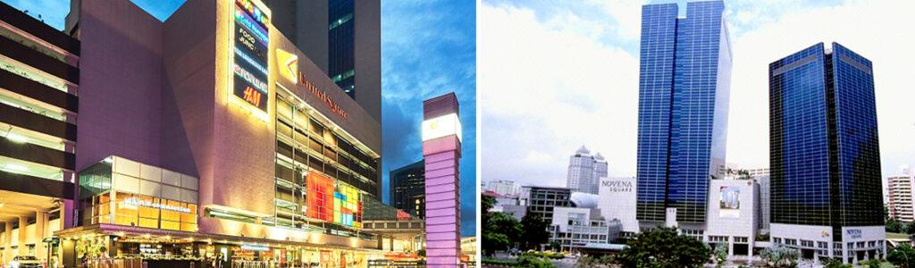 United Square Mall & Novena Square Mall, the attraction of D11 & 21 Condo For Sale