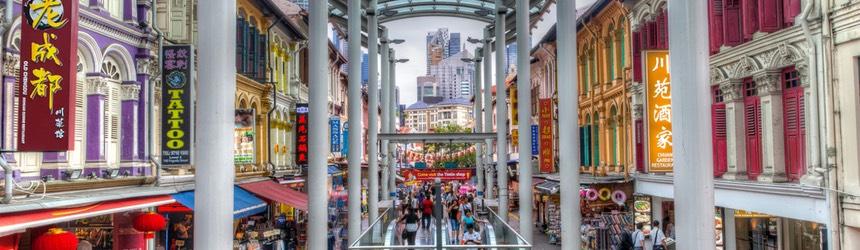 Singapore Chinatown & Chinatown MRT Station