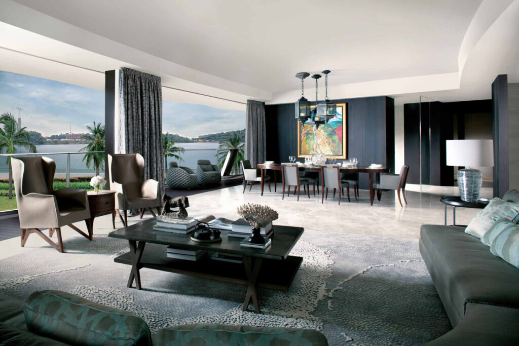 Corals At Keppel Bay showflat of 4 Br Deluxe