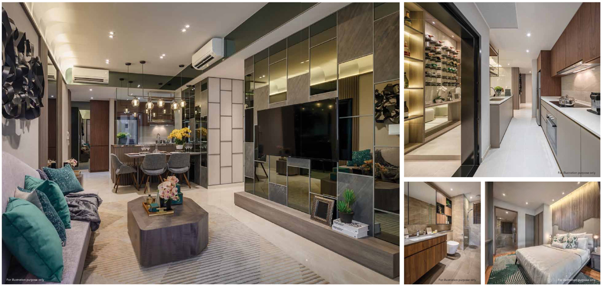 3 Bedroom Premium Showflat of Kent Ridge Hill Residence