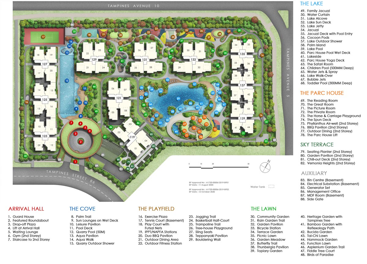 Parc Central Residences EC's Site Plan