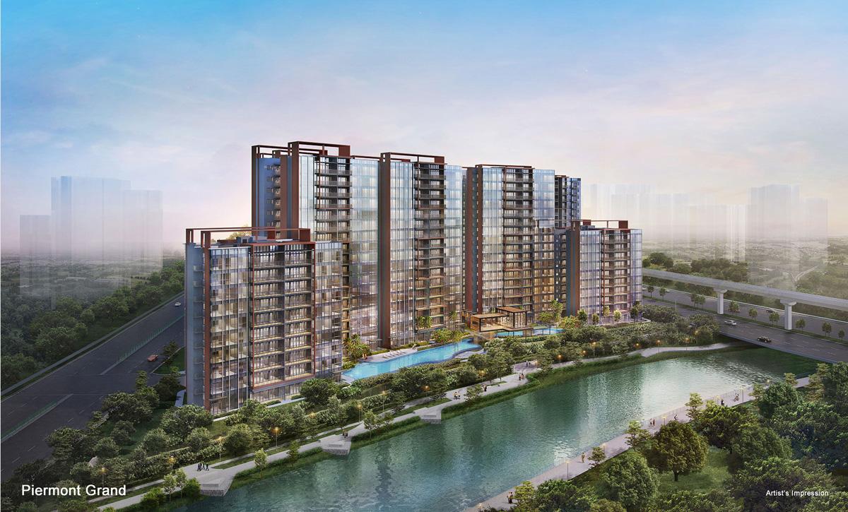 Piermont Grand, Executive Condominium(EC) in (D19) Hougang / Punggol / Sengkang