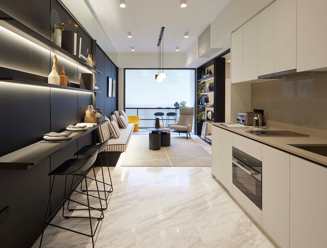 3 Bedrooms' Kitchen