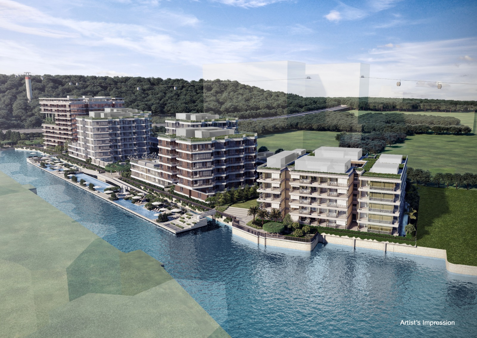 The Reef At King's Dock The Offer The Luxury Waterfront Living