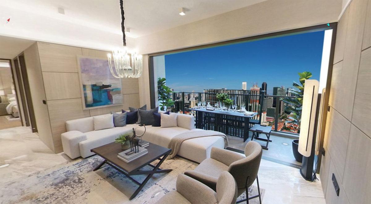 Landmark 3Br S Living Room