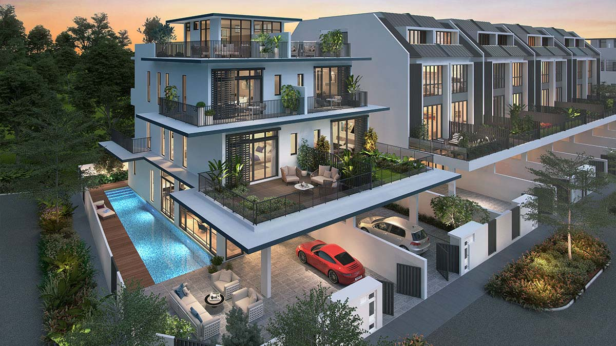 Lexus Hills Contemporary Collection, 999 Years Leasehold Landed Property
