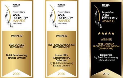 Luxus Hills Developers' Awards 1