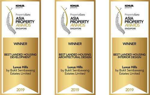 Luxus Hills Developers' Awards 2