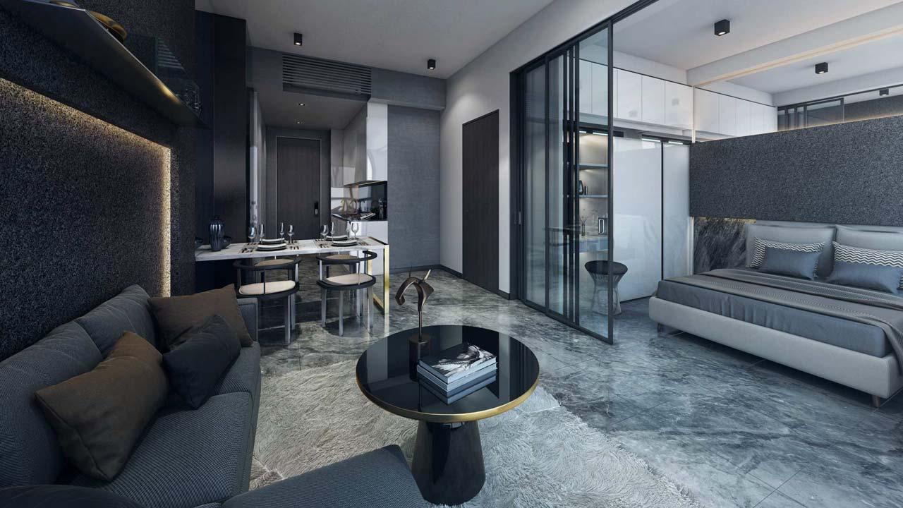 1 bedroom Showsuite