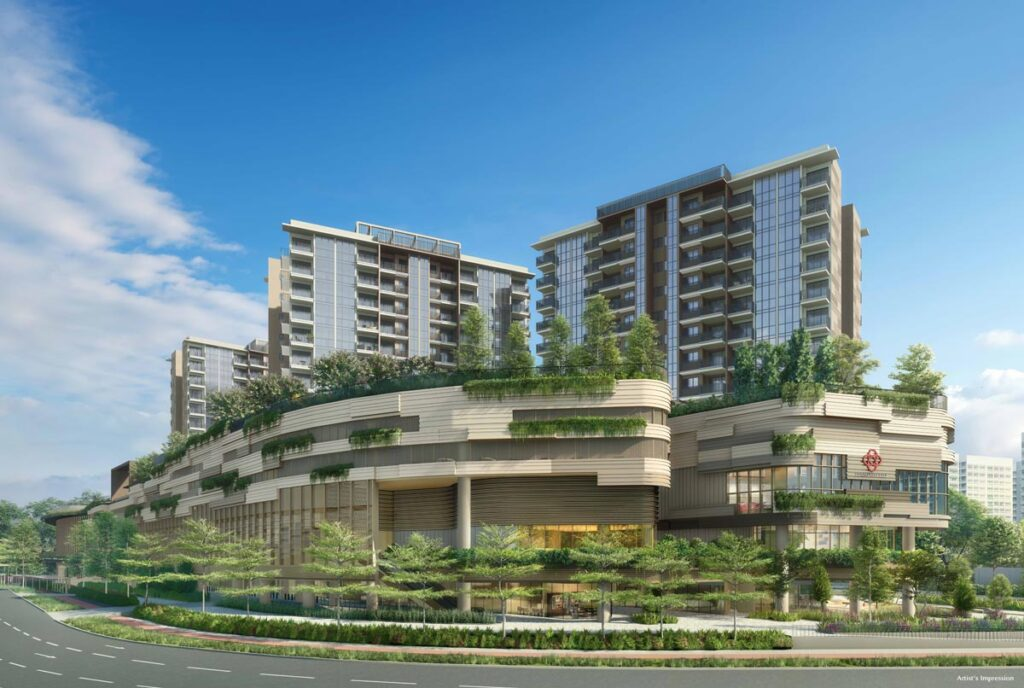 Sengkang Grand Mixed Development-overview