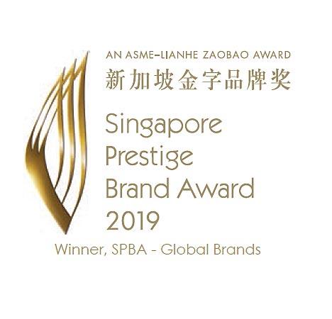Singapore Pretige Brand Award 2019