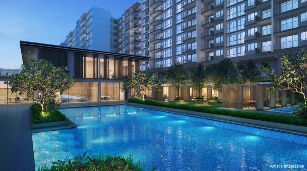 Singapore New Home Sales - Treasure At Tampines Clubhouse