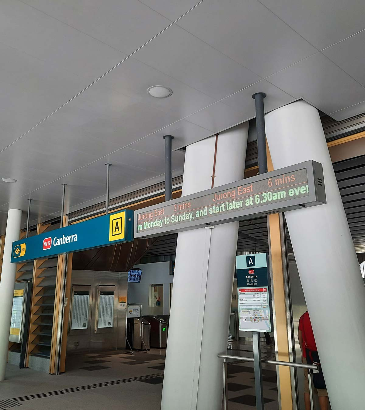 Sinagapore EC near MRT