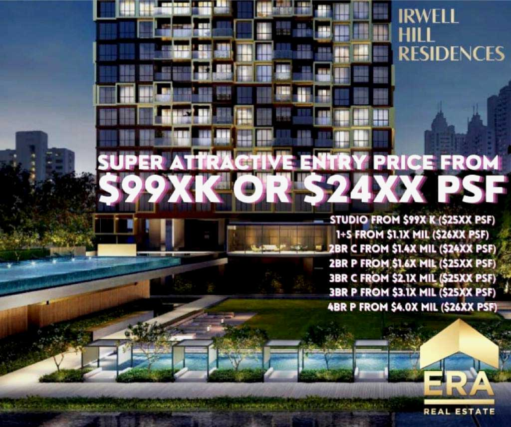 Irwell Hill Residences Price