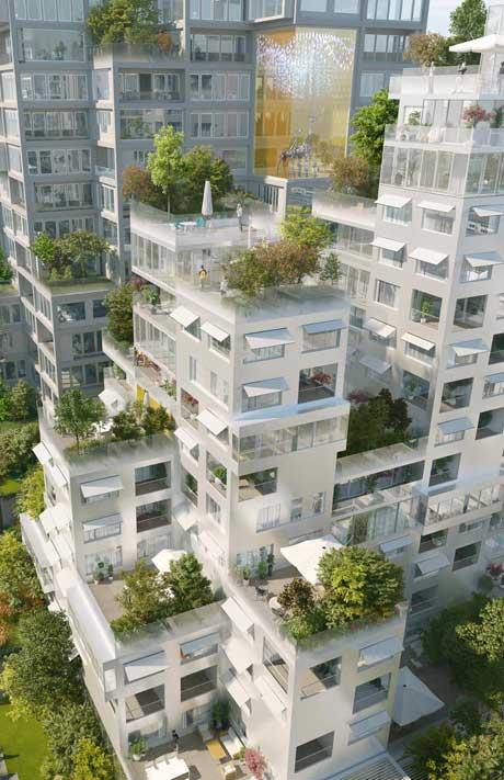 Montpleyel(+) by MVRDV Concept Architect of Irwell Residences