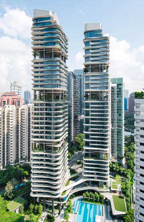 New Futura Leonie Hill Singapore by CDL Developer of Irwell Hill Residences