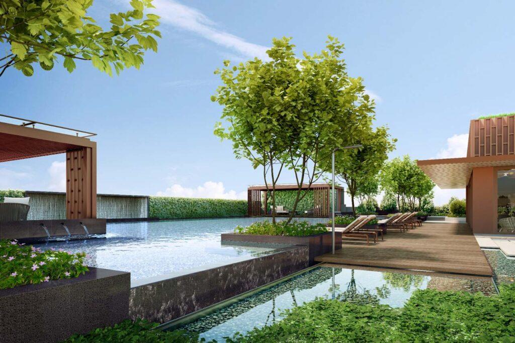 One Bernum Sky Pool