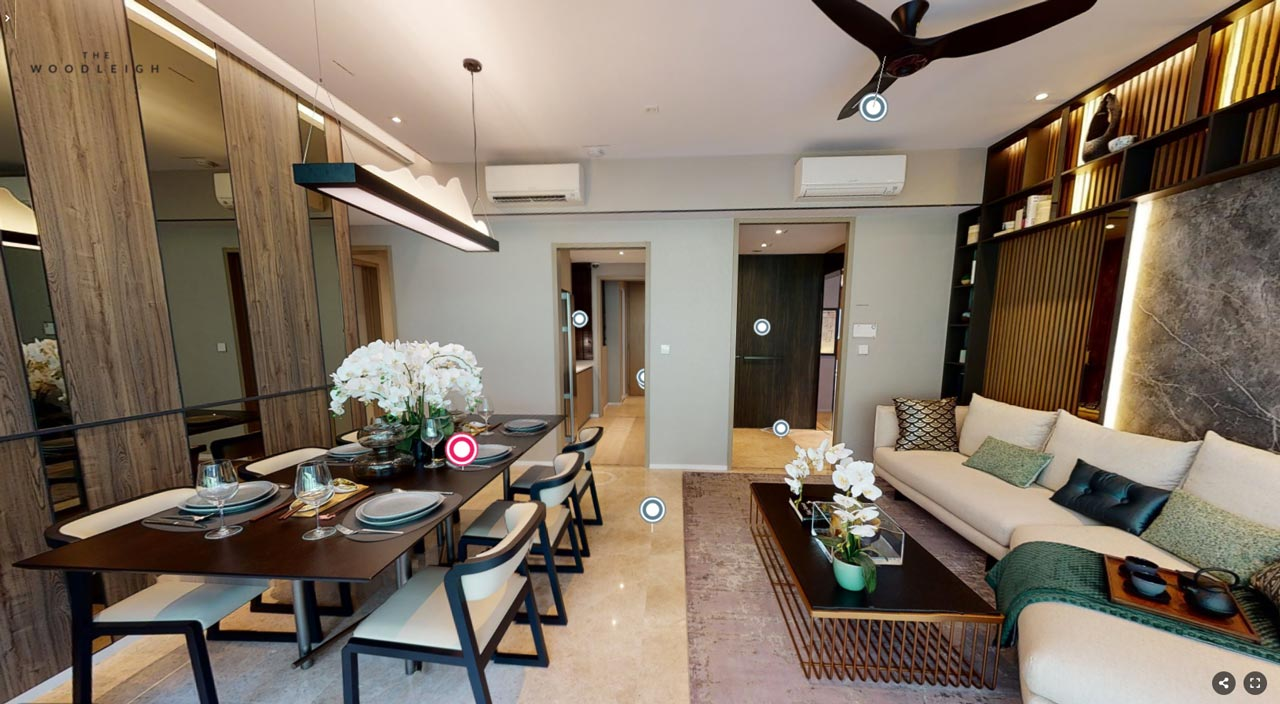 The Woodleigh Residences Showflat F1-V 1270 sqft