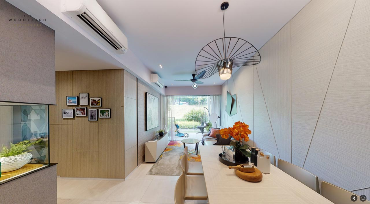 The Woodleigh Residences Showflat D2 958 sqft