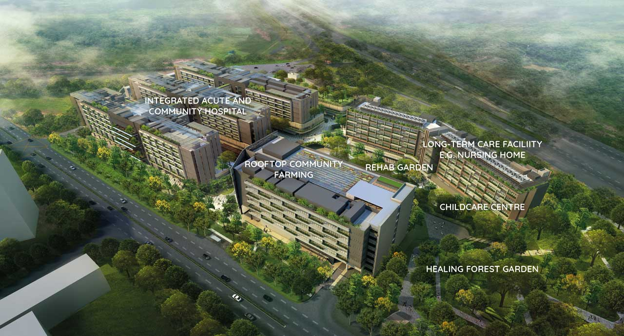 Woodlands Health Campus will bring more tenants, foreign medical professional to Watergardens at Canberra