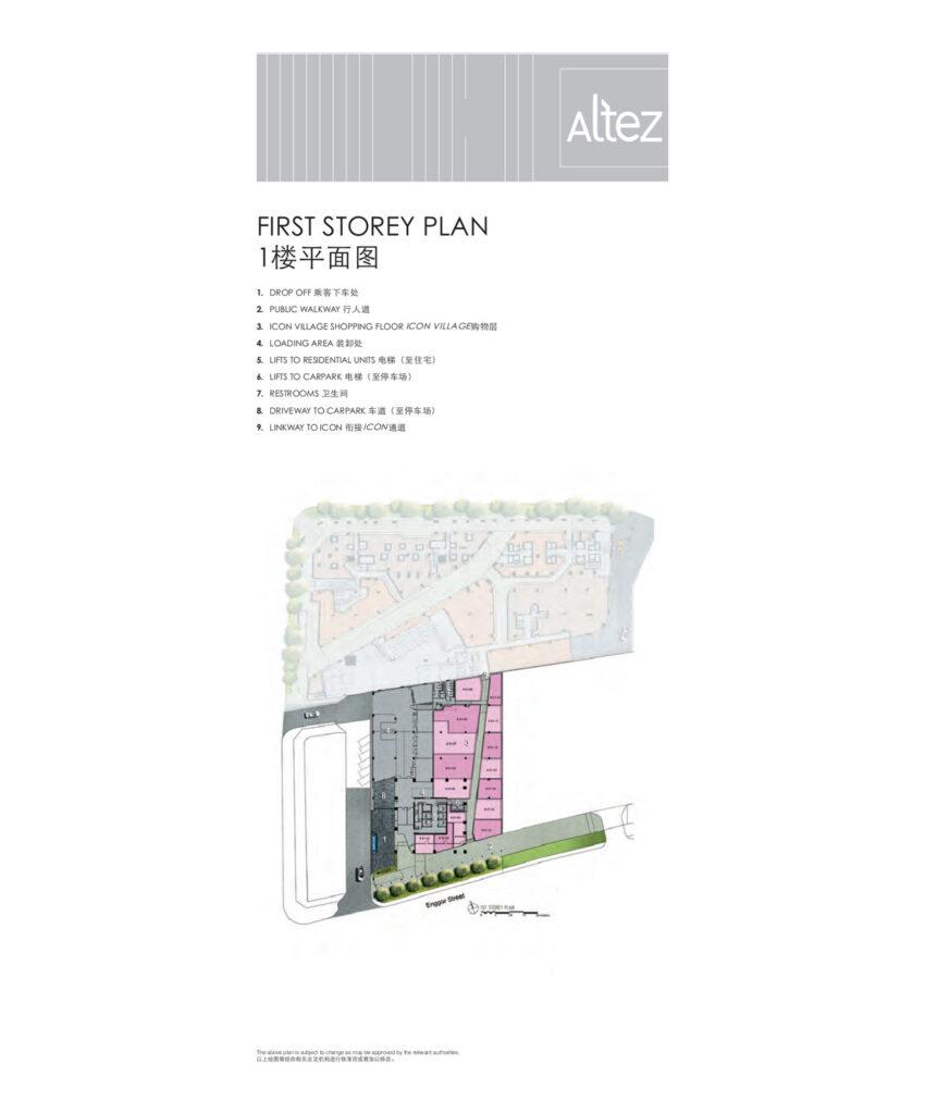 Site Plan Level 1