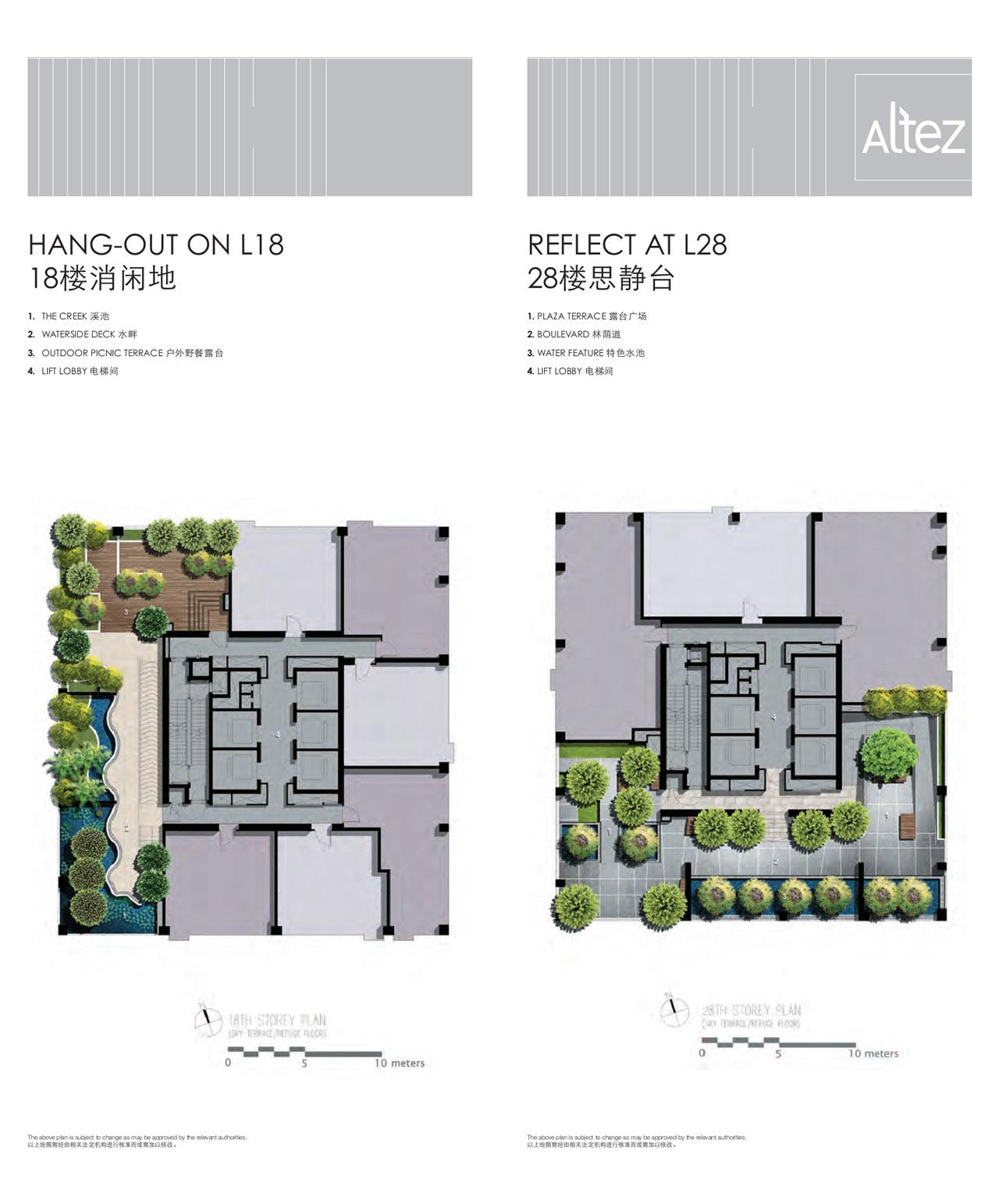Site Plans Level 18 & Level 28