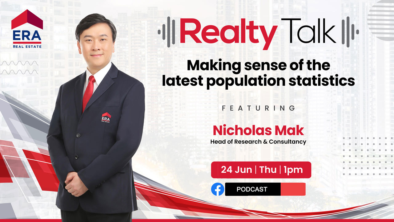 Singapore Census & Effect to Real Estate Market 2021