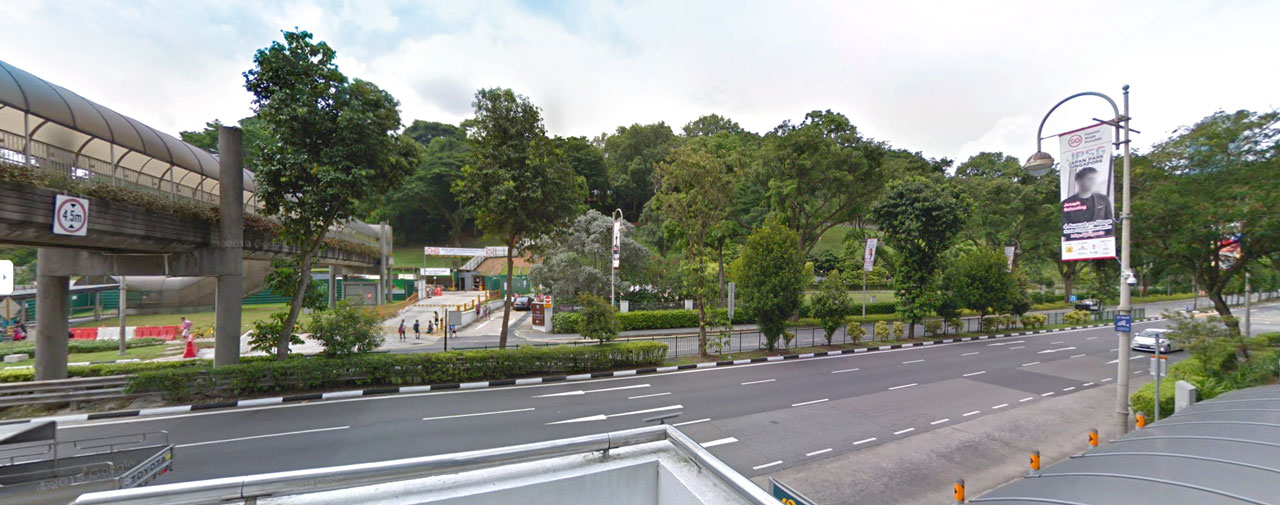 Existing Overhead Bridge linked Canninghill Piers location to Fort Canning Park & Dhoby Ghaut & Orchard Road - Canninghill Piers Singapore