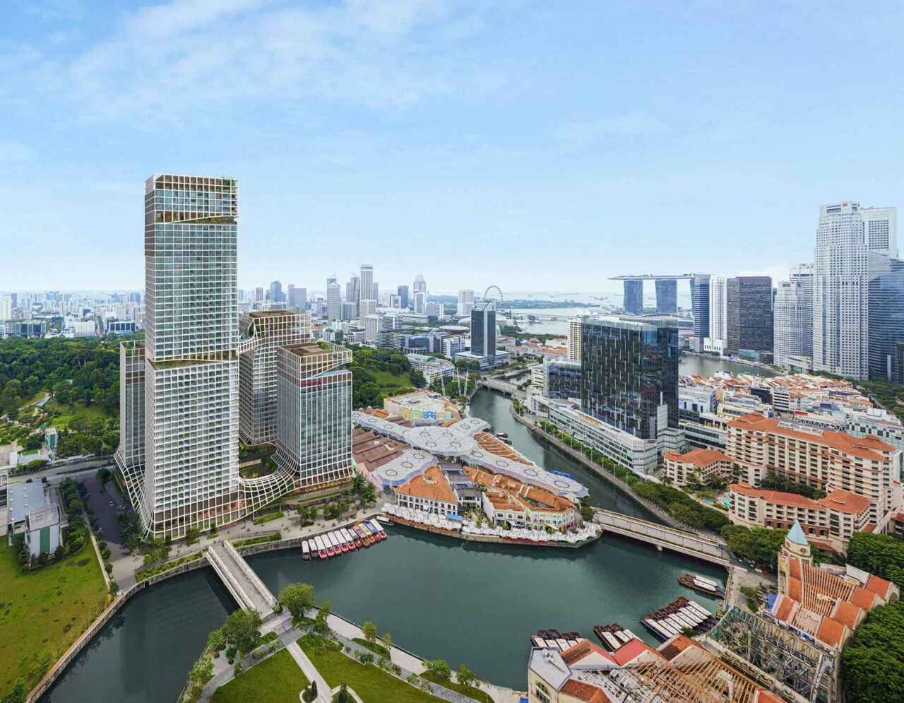 Canninghill Piers Singaore by CDL-Capitaland